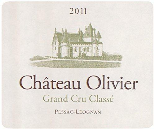 2011 Chateau Olivier Grand Cru Classe Pessac Leognan Bordeaux Blanc 750 Ml