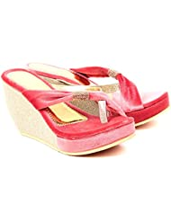She Walk Women's Resin Wedges - B018XPDQP4