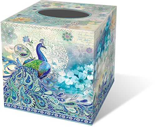 Decorative Boxes Tk Maxx : Punch studio paisley peacock butterflies tissue box cover