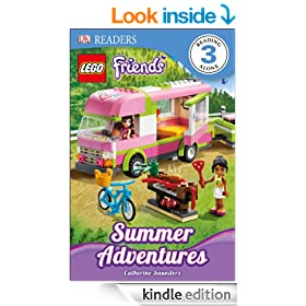 LEGO� Friends Summer Adventures (DK Readers Level 3)