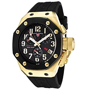 Click to buy Swiss Legend Watches: Mens 10541-YG-01-BB Trimix Diver Collection Chronograph Black Rubber Watch from Amazon!