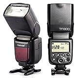 TARION TF600 カメラフラッシュ スピードライト ストロボ HSS 1/8000S S1 S2 2.4Gワイヤレスシステム内蔵 Canon Nikon Pentax Sony Fujifilm Olympus Dslr デジタル 一眼レフカメラ に対応