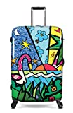 Heys USA Luggage Britto Palm 30 Inch Hardside Spinner
