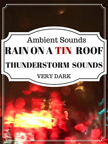 Rain and Thunder in a car ambient sounds