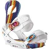 Burton Scribe EST Snowboard Binding Wild White Ladies WILD WHITE S by Burton