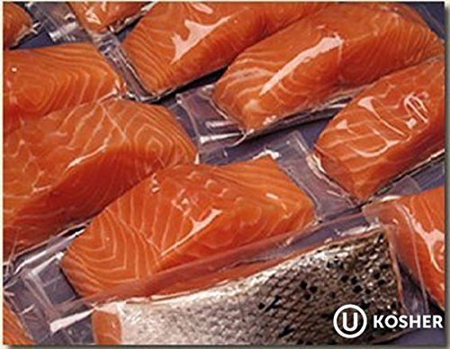 30 X 6 Oz. Fresh Atlantic Salmon Portions, Individually Vacuum Packed, Ready to Cook.