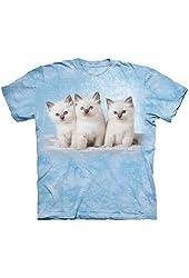The Mountain 100% Cotton Cloud Kittens T-Shirt