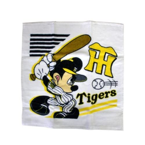 ディズニー アスリーツシリーズ ハンドタオル ミッキーマウス×阪神タイガース 2009