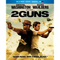 2 Guns (Blu-ray + DVD + Digital HD with UltraViolet)
