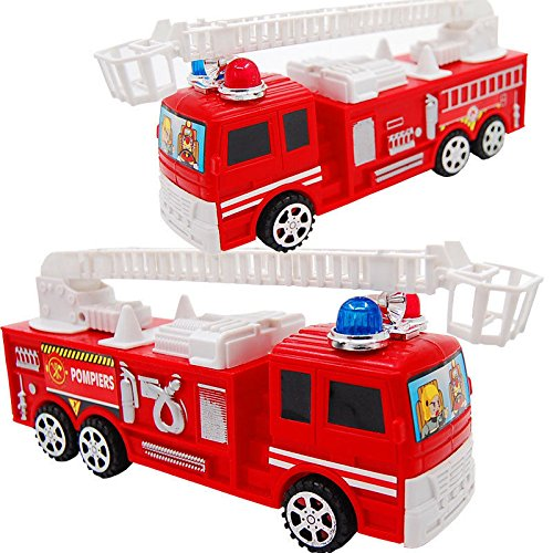 Baby Boy Toys Pull Back Fire Fighting Truck Model Kids Toy Cars Vehicle Toy Gift (Fire Truck Toothbrush Holder compare prices)
