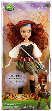 Disney the Fairy Pirate Zarina Doll