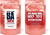 2 X STRONGEST PRE WORKOUT PACK SUPER NOX 3D X Nitric Oxide + PRO BETA ALANINE MAX Muscle Building Pump Stak