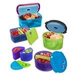 Fit & Fresh Kids' Reusable Lunch Cont...