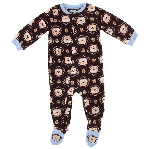 Monkey Pajamas For Kids front-1063692