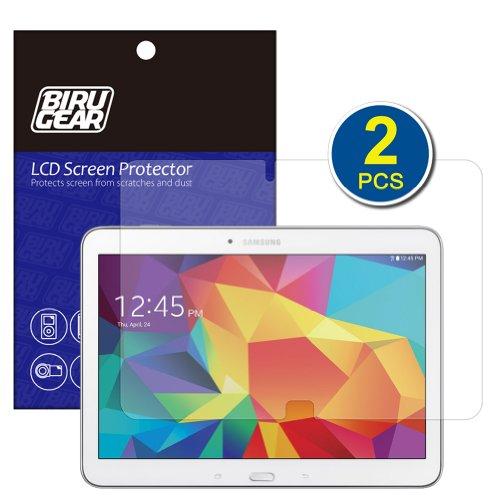 Birugear Samsung Galaxy Tab 4 10.1 / Tab 4 Nook 10.1 Screen Protector, (2-Pack) Premium Hd Crystal Clear Lcd Screen Protector For Samsung Galaxy Tab 4 10.1 Sm-T530 T531 T535 / Tab 4 Nook 10.1 Inch Tablet