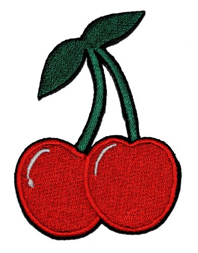 Cute Cherry Diy Applique Embroidered Sew Iron On Patch Cr-002 front-636851