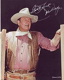Set Of Six 8x10 Photos John Wayne Western Film Collage Collection