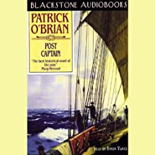 Post Captain: Aubrey/Maturin Series, Book 2 (       UNABRIDGED) by Patrick O'Brian Narrated by Simon Vance
