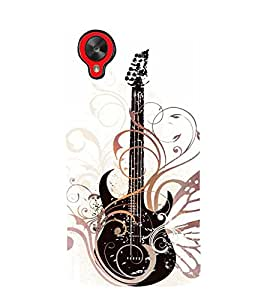 Vintage Fashion Guitar Cute Fashion 3D Hard Polycarbonate Designer Back Case Cover for LG Nexus 5 :: LG Google Nexus 5