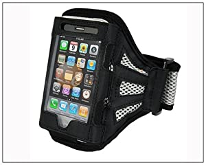 Deluxe Armband for Apple iPhone 4 4G 3G 3GS