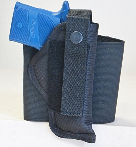 Big Save! Elastic Wrap Ankle Holster for Sig Sauer P938 Compact Pistol