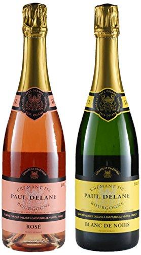 "Sparkling Wine ""Cremant De Bourgogne"" Paul Delane Mixed Pack, 2 X 750 Ml"
