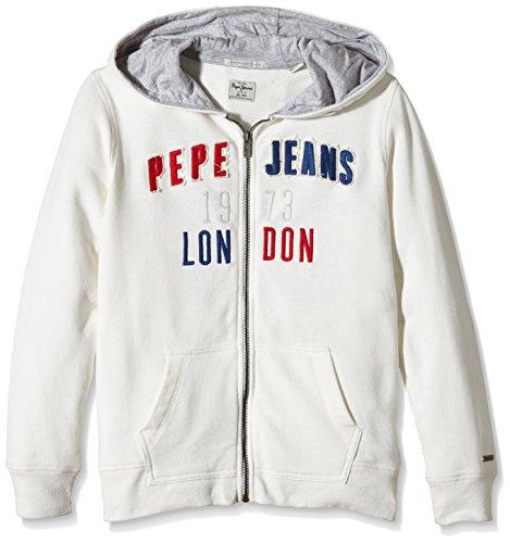 Pepe Jeans LINK TEEN-cappuccio Bambino    Bianco (Off White) 14 anni