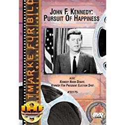 JFK Pursuit Of Happiness/Kennedy-Nixon Presidential Debate/Kennedy for President DVD