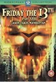Friday The 13th Part 8 : Jason Takes Manhattan [1989] [DVD]