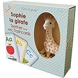 Vulli Sophie La Giraffe Teether and Flashcards Set