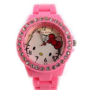 Watch design 'Hello Kitty'rose.