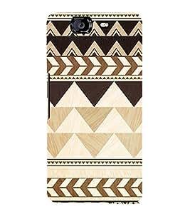 EPICCASE pyramids Mobile Back Case Cover For Micromax Canvas Knight A350 (Designer Case)