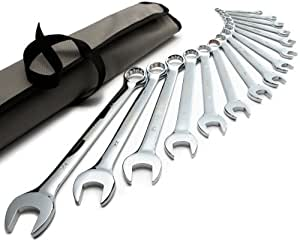 Denali 15-Piece Combination Wrench Set, Metric