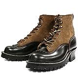 (ニックス) NICKS BOOTS HOTSHOT ブーツ メンズ ブラック/モカスエード US7.5E(25.5?26cm)