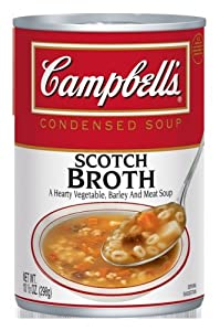 Campbell's Condensed Scotch Broth, 10.5-Ounce Cans (Pack of 12)