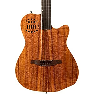 Godin Multiac ACS-SA Extreme Koa Nylon String Classical Acoustic-Electric Guitar from Godin