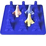 Effel Tower 3D Silicone Molds Chocolate Candy Making