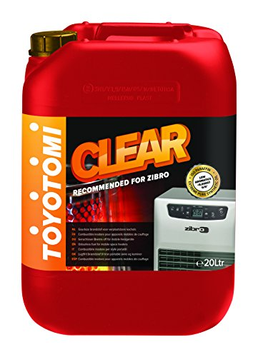 Toyotomi CLEAR20L Clear Combustibile per Stufe 20 Litri, Aromatici < 0.00007%