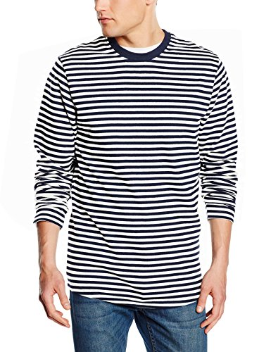 JACK & JONES - JCODANIEL SWEAT CREW NECK, Felpa Uomo, Multicolore (Blanc de Blanc Fit:REG), Large (Taglia Produttore: Large)