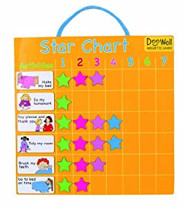 Amazon.com: Fiesta Crafts Magnetic Star Chart: Toys & Games