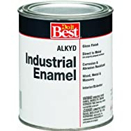 -W50W00801-44Do it Best Alkyd Industrial Enamel-GLS PSTL/WHT ALKYD PAINT