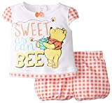Disney Baby-Girls  Pooh 2 Piece Diaper Set