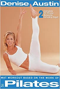 Denise Austin - Mat Workout Based on the Work of J.H. Pilates [Import USA Zone 1]