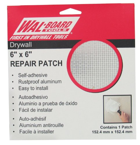 "Walboard Tool 54-006 6"" X 6"" Drywall Repair Patch"