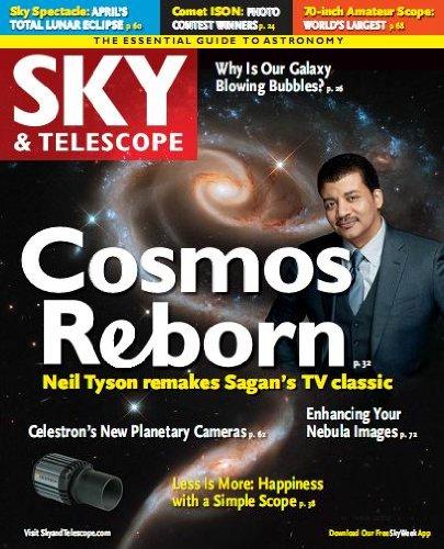 Sky & Telescope Magazine April 2014