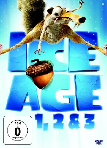 Ice Age 1, 2 & 3 [3 DVDs]