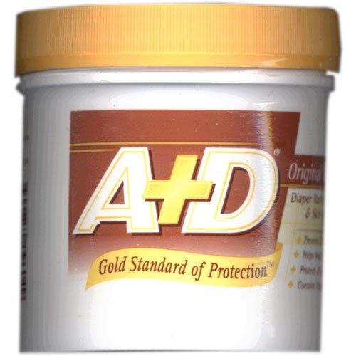 A+D Original Ointment, Diaper Rash and All-Purpose Skincare Formula 1 lb (454 g)