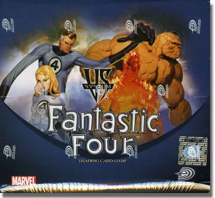 Marvel VS TCG: Fantastic Four 2-Player Starter Deck Box by Upper Deck - 1