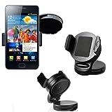 Auto Kfz Halter f�r Samsung Galaxy S3 SIII i9300 / Galaxy S2 SII i9100 / Autohalterung Autohalter Halterung 360� Grad Schwankbar VIBRATIONSFREI / KFZ Halterung / KFZ Halter / Autohalterung / Ger�tehalter / Passivhalter / Universell / Smartphone / Universal / Car Holder / PKW / LKW / Original Lanboo / NEUWARE / Kostenloser Versand !!!