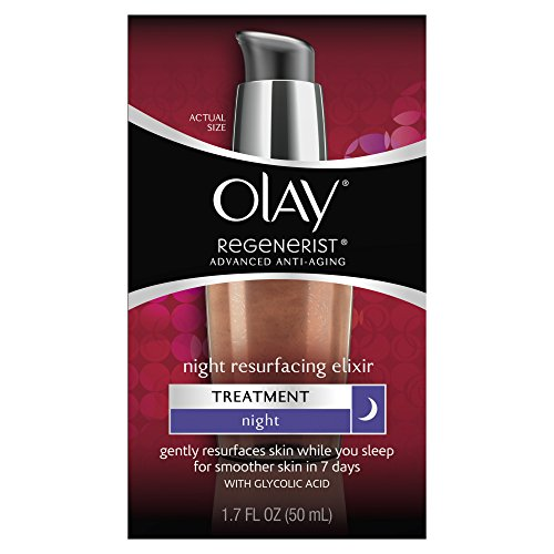 Olay Regenerist Advanced Anti-Aging Night Resurfacing Elixir 1.7 Fl Oz